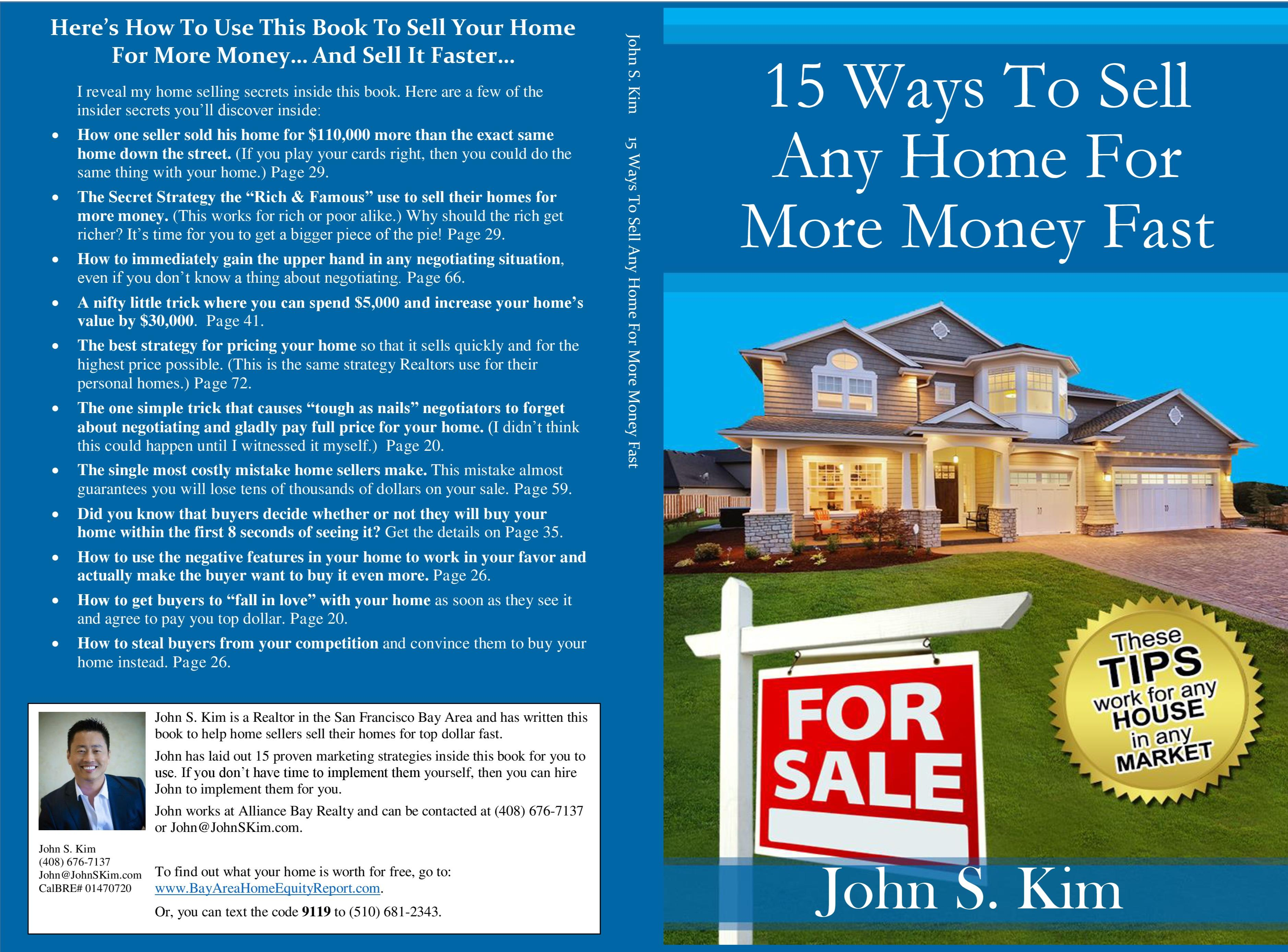 15 Ways To Sell Any Home For More Money Fast cover image