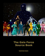 The Gaia Force Source Book cover image