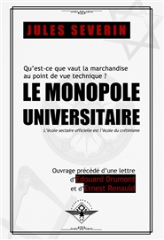 Le monopole universitaire cover image