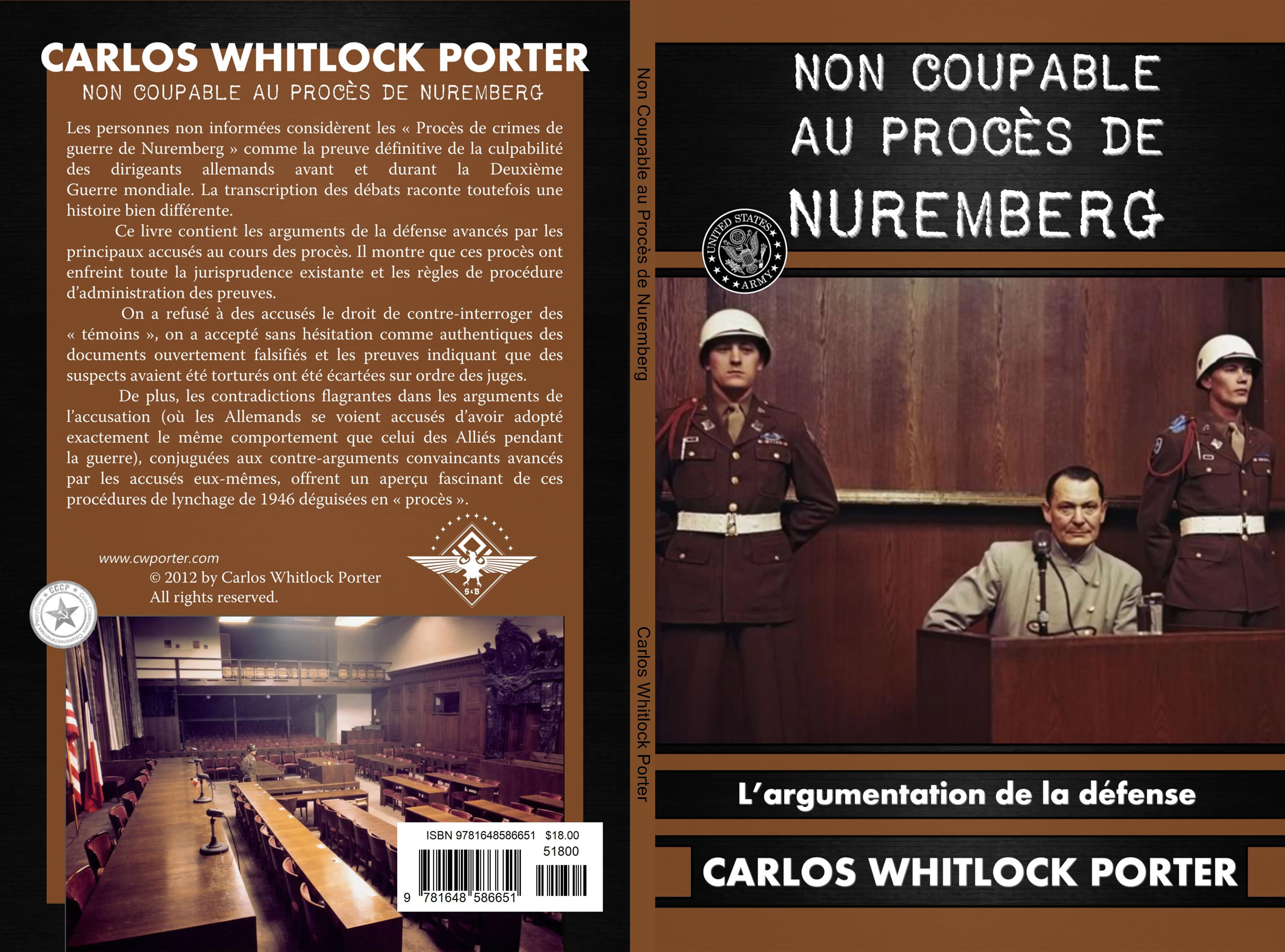 Non coupable au procès de Nuremberg cover image