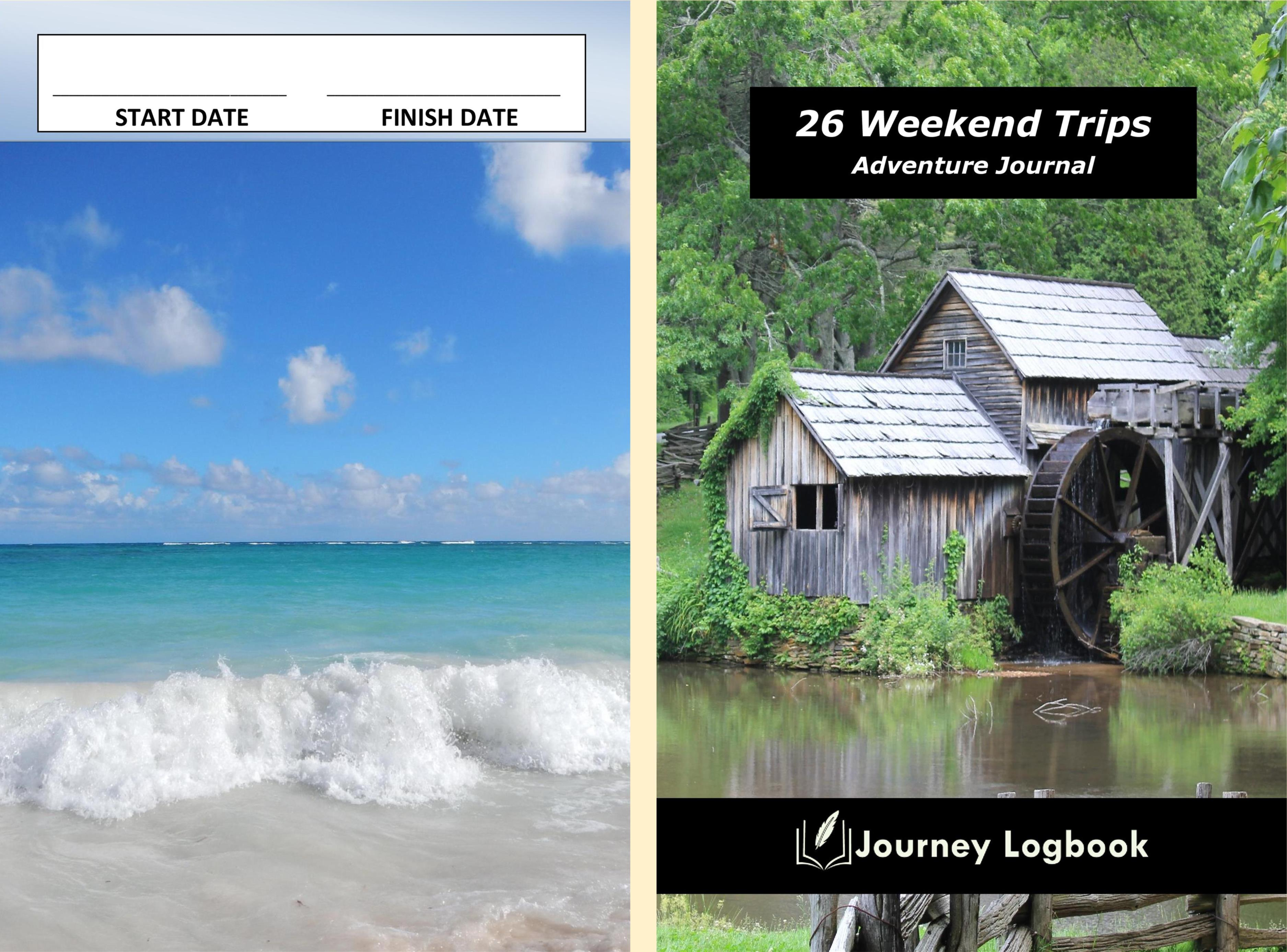26 Weekend Trips Adventure Journal cover image