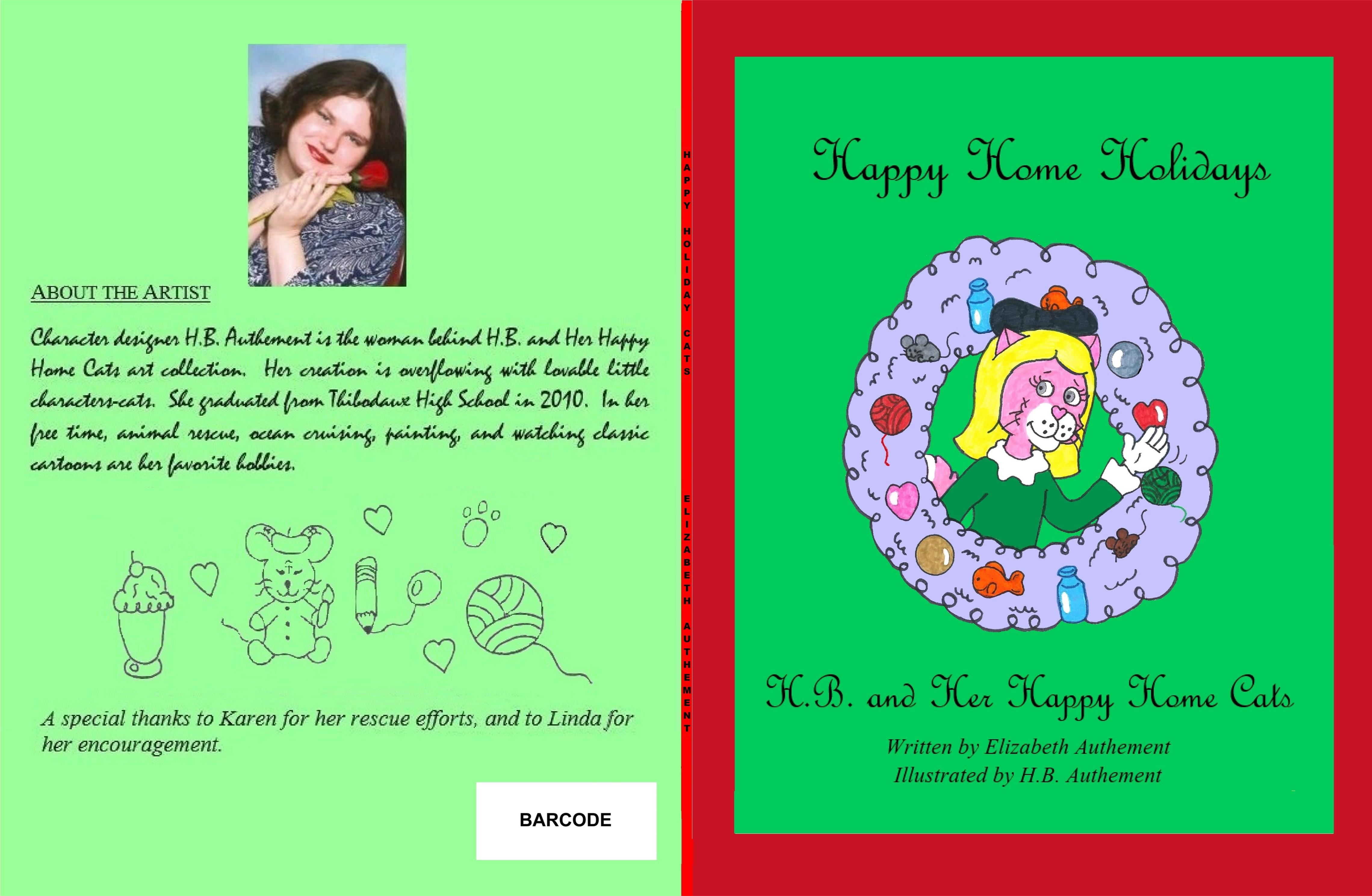 Happy Home Holidays cover image