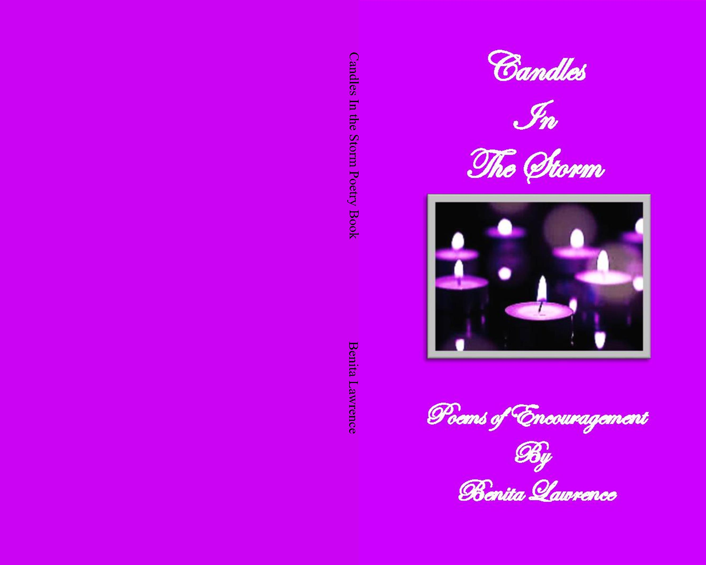 Candles In the Storm Poetry Book cover image