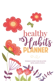 2019 Healthy Habits Planner cover image