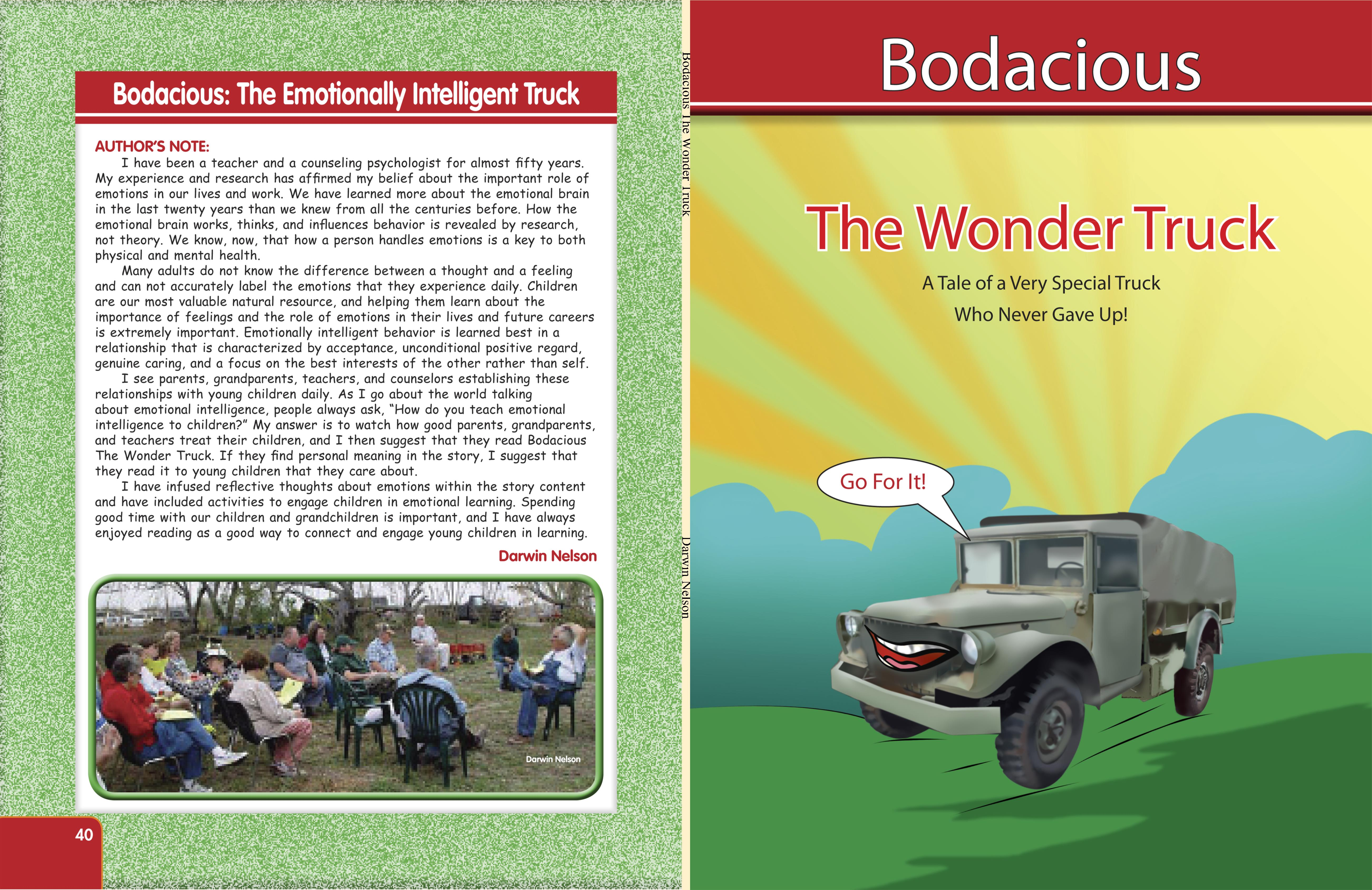 Bodacious The Wonder Truck cover image