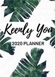 Keenly You 2020 Planner cover image