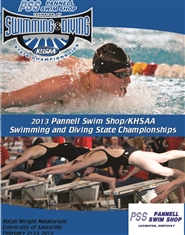 2013 Pannell Swim Shop/KHSAA Swimming & Diving Championship Program cover image
