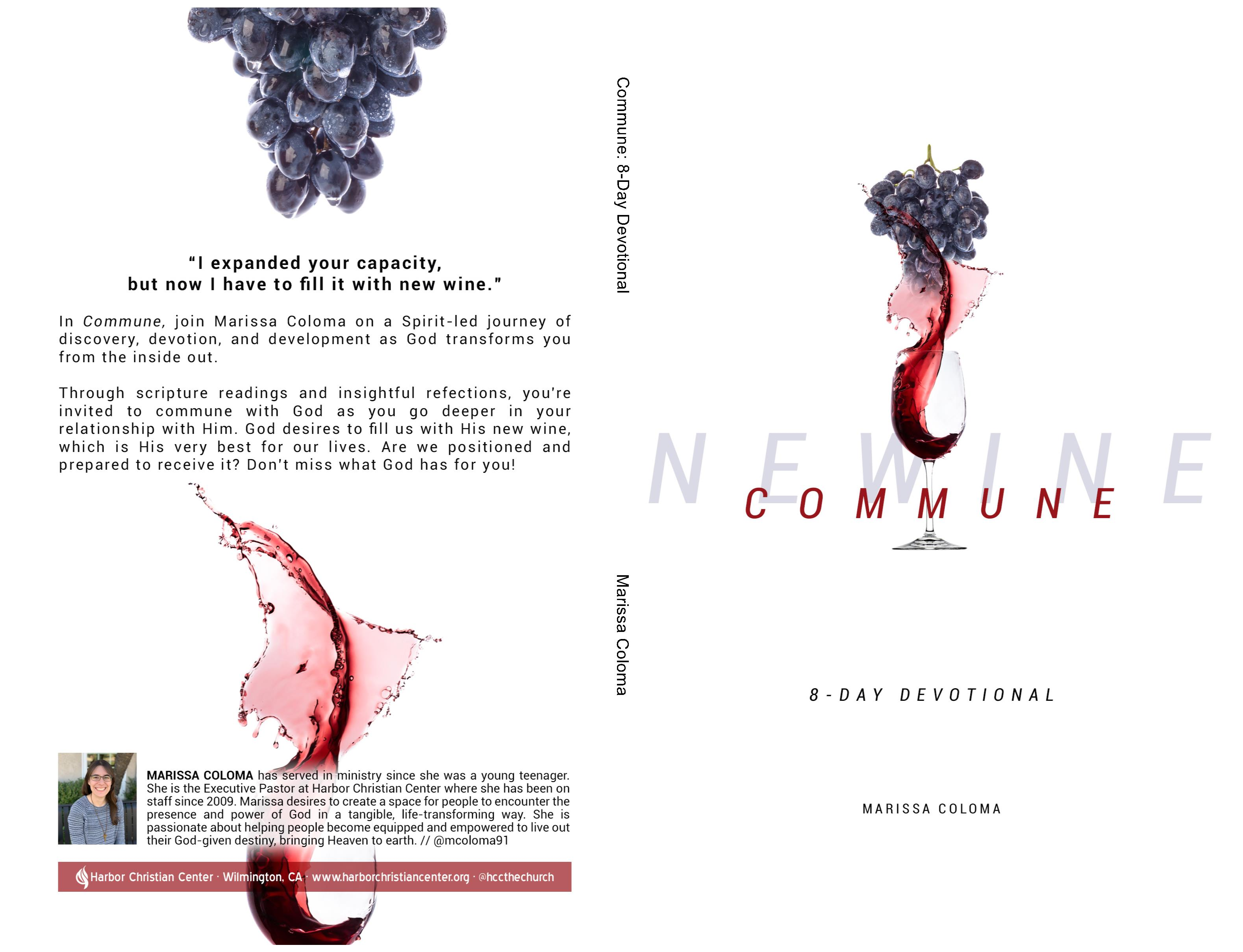 Commune: 8-Day Devotional cover image