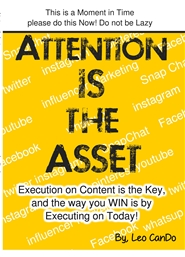 Attention is the Asset cover image