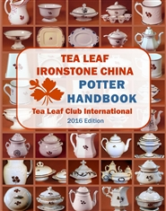 Tea Leaf Ironstone China Potter Handbook cover image