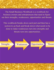 Business SWOT: The Small Business Workbook cover image