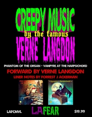 Creepy Music by the famous Verne Langdon Phantom of the Organ - Vampyre at the Harpsichord cover image