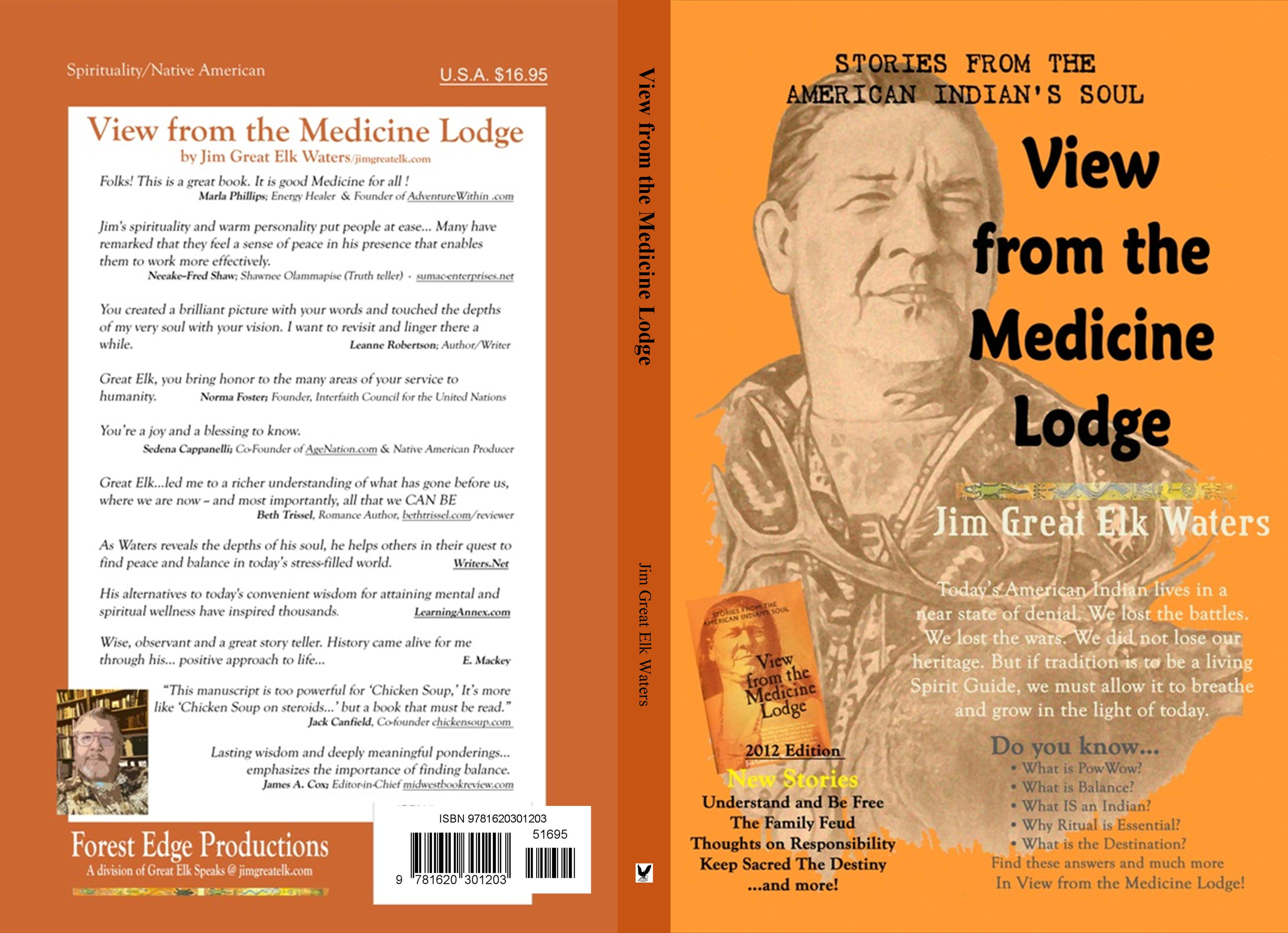 View from the Medicine Lodge cover image