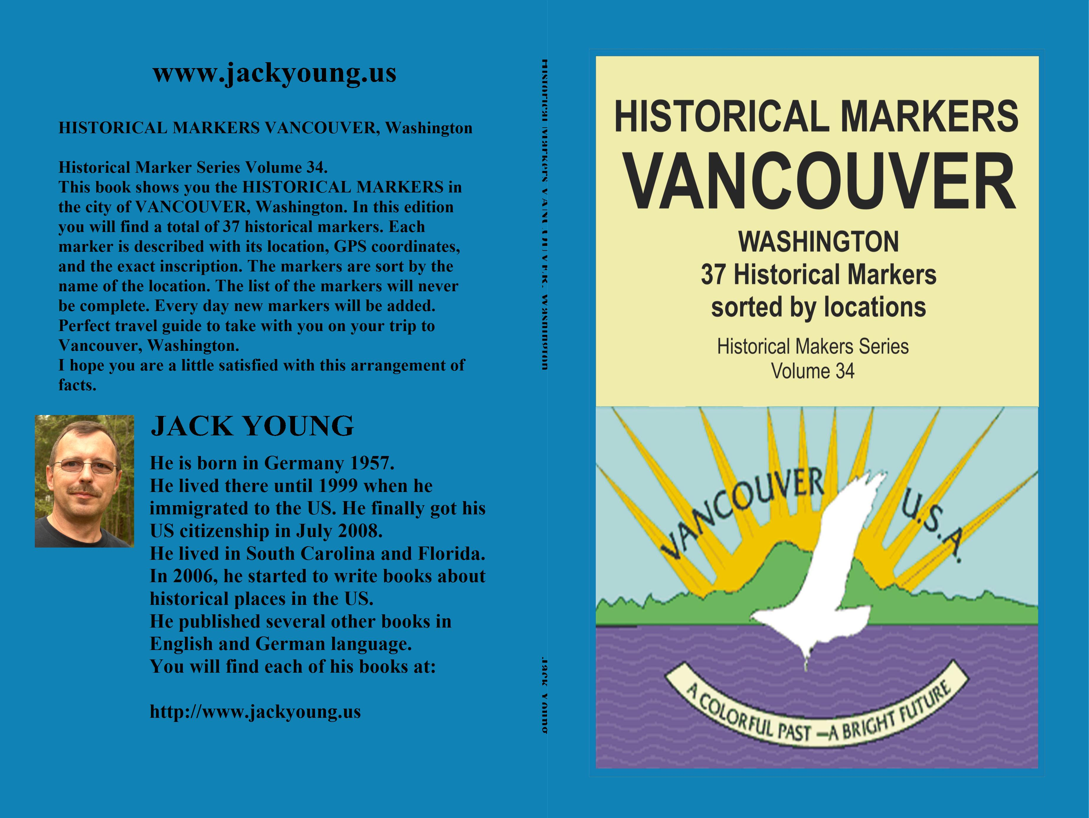Historical Markers VANCOUVER, Washington cover image