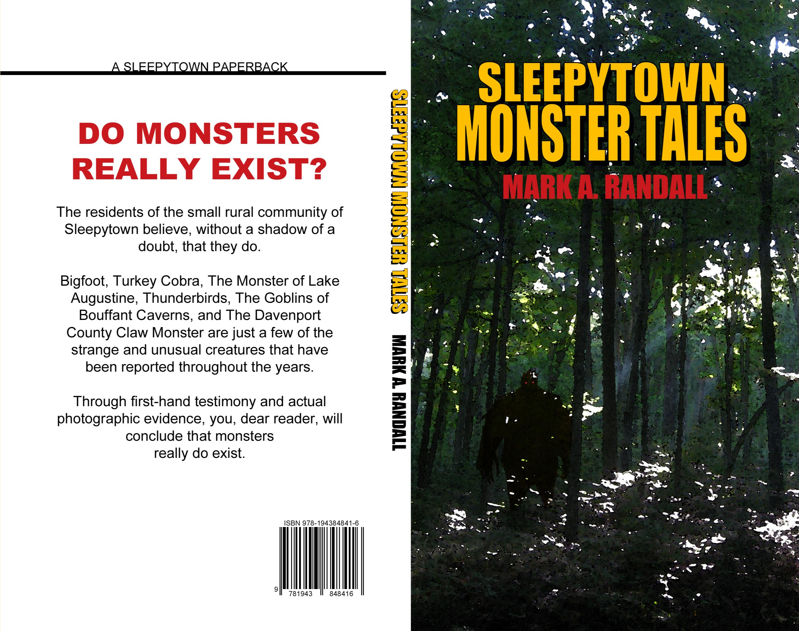 Sleepytown Monster Tales cover image