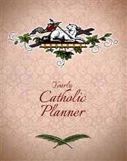 Catholic Yearly Planner (Agnus Dei Cover) cover image