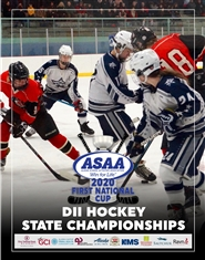 2020 ASAA First National Cup D2 Hockey State Championship Program cover image