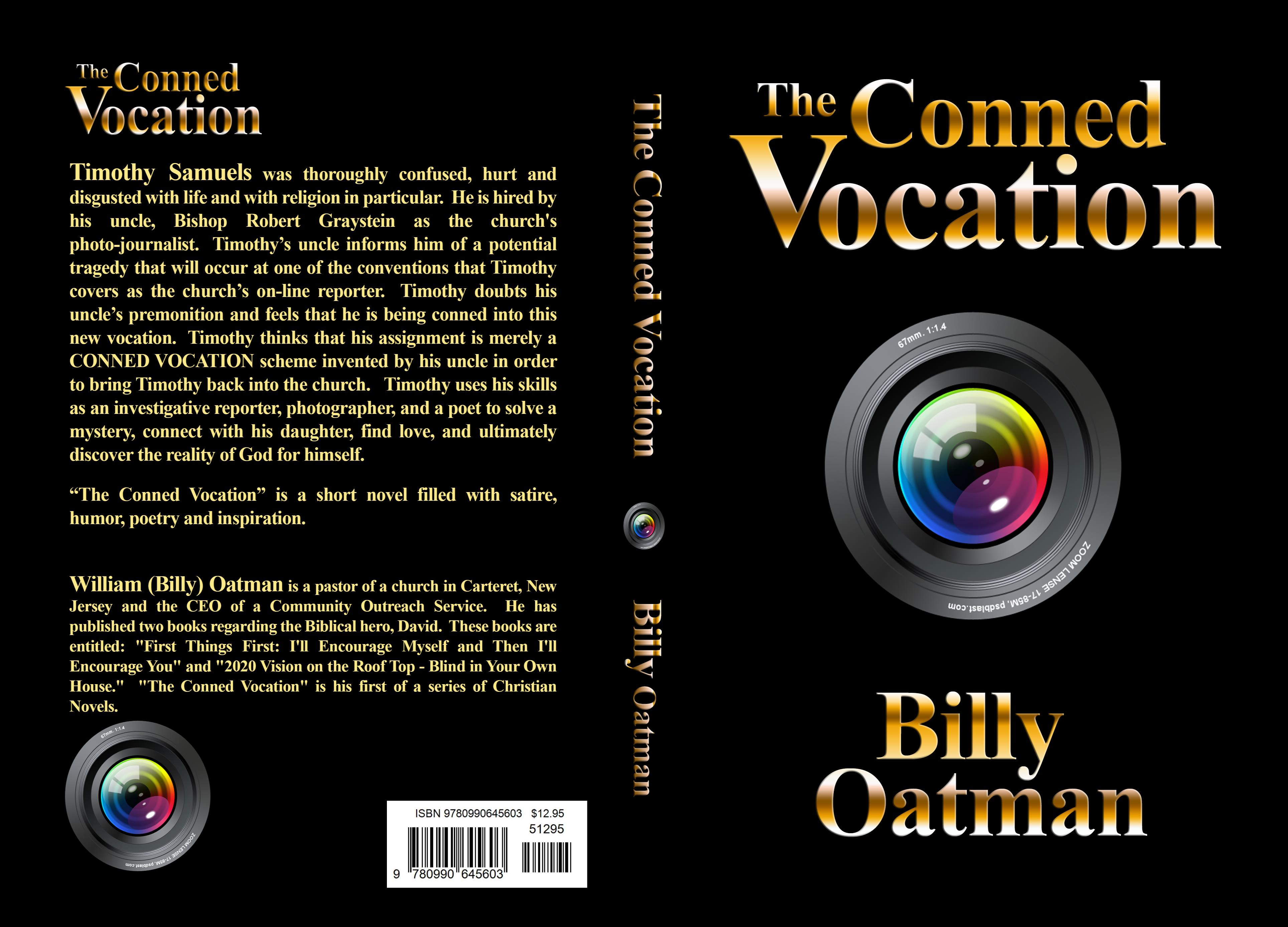 """The Conned Vocation"" cover image"