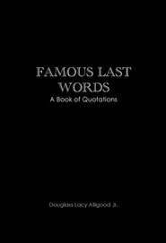 Famous Last Words cover image