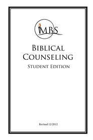 Biblical Counseling - Student Edition cover image