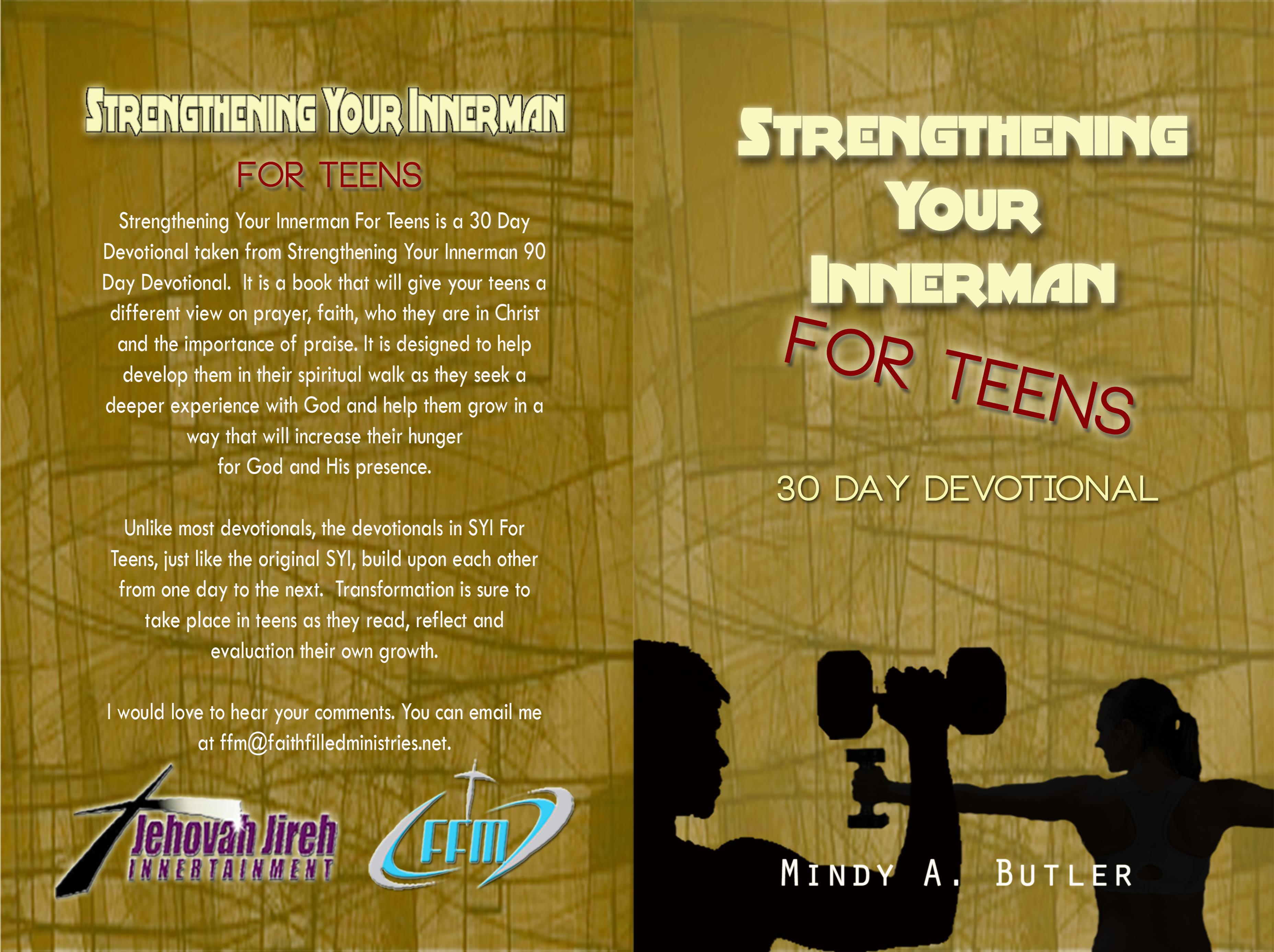 Strengthening Your Innerman for Teens cover image