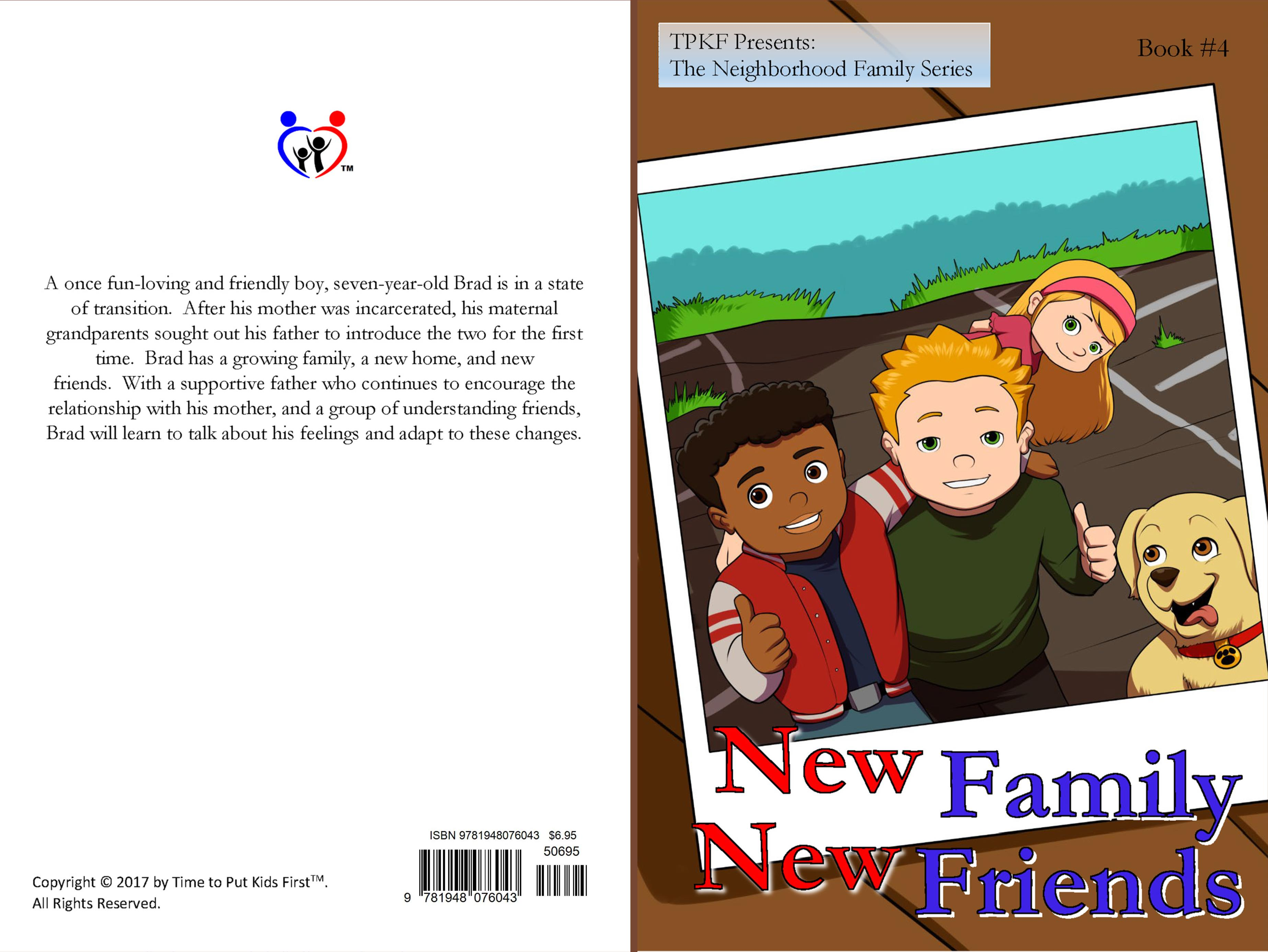 New Family, New Friends cover image