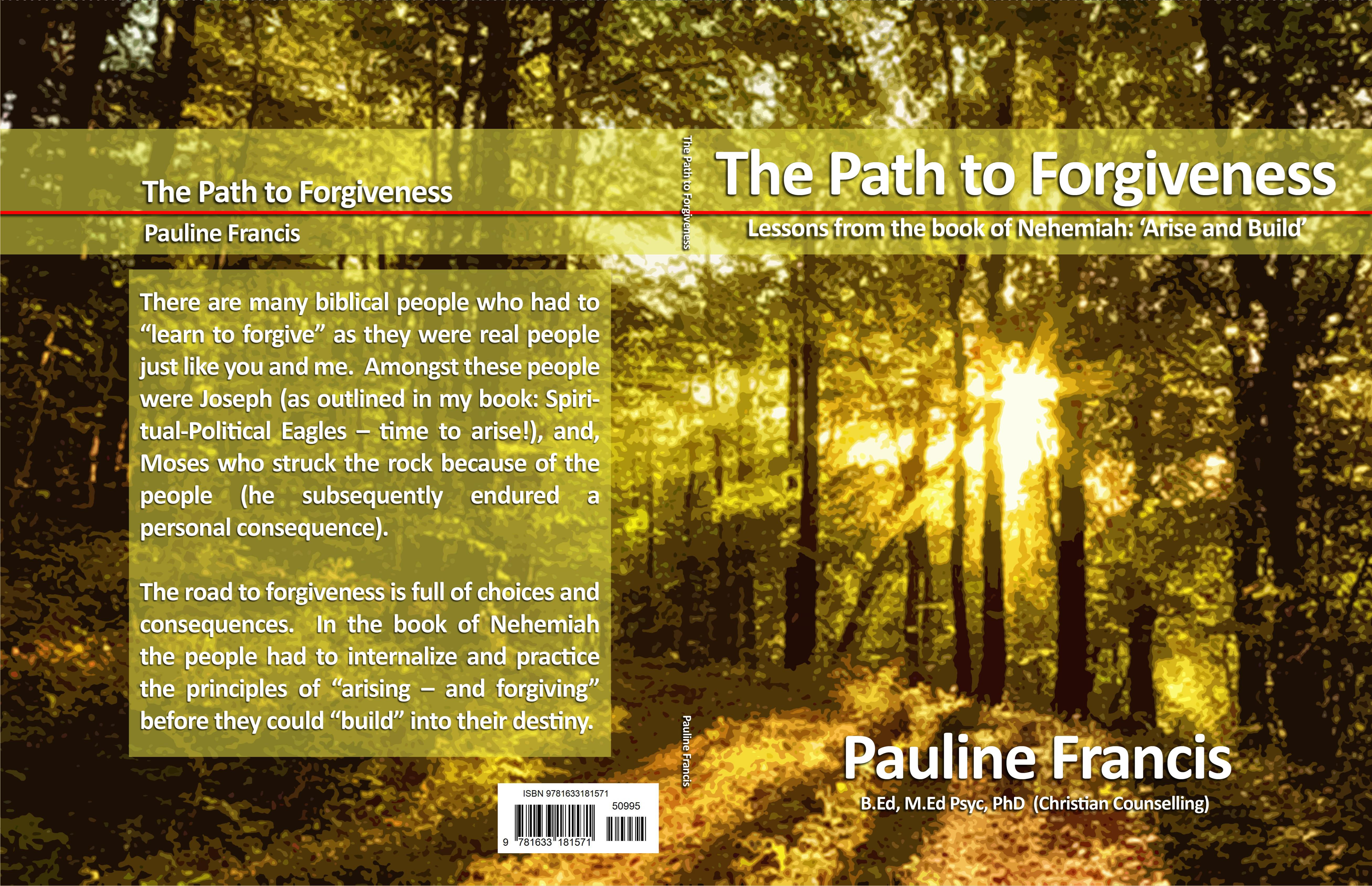 The Path to Forgiveness – Lessons from the book of Nehemiah: 'Arise and Build' cover image