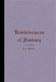 Reminiscences of Sunbury cover image