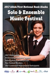 2017 Solo & Ensemble Music Festival Program cover image