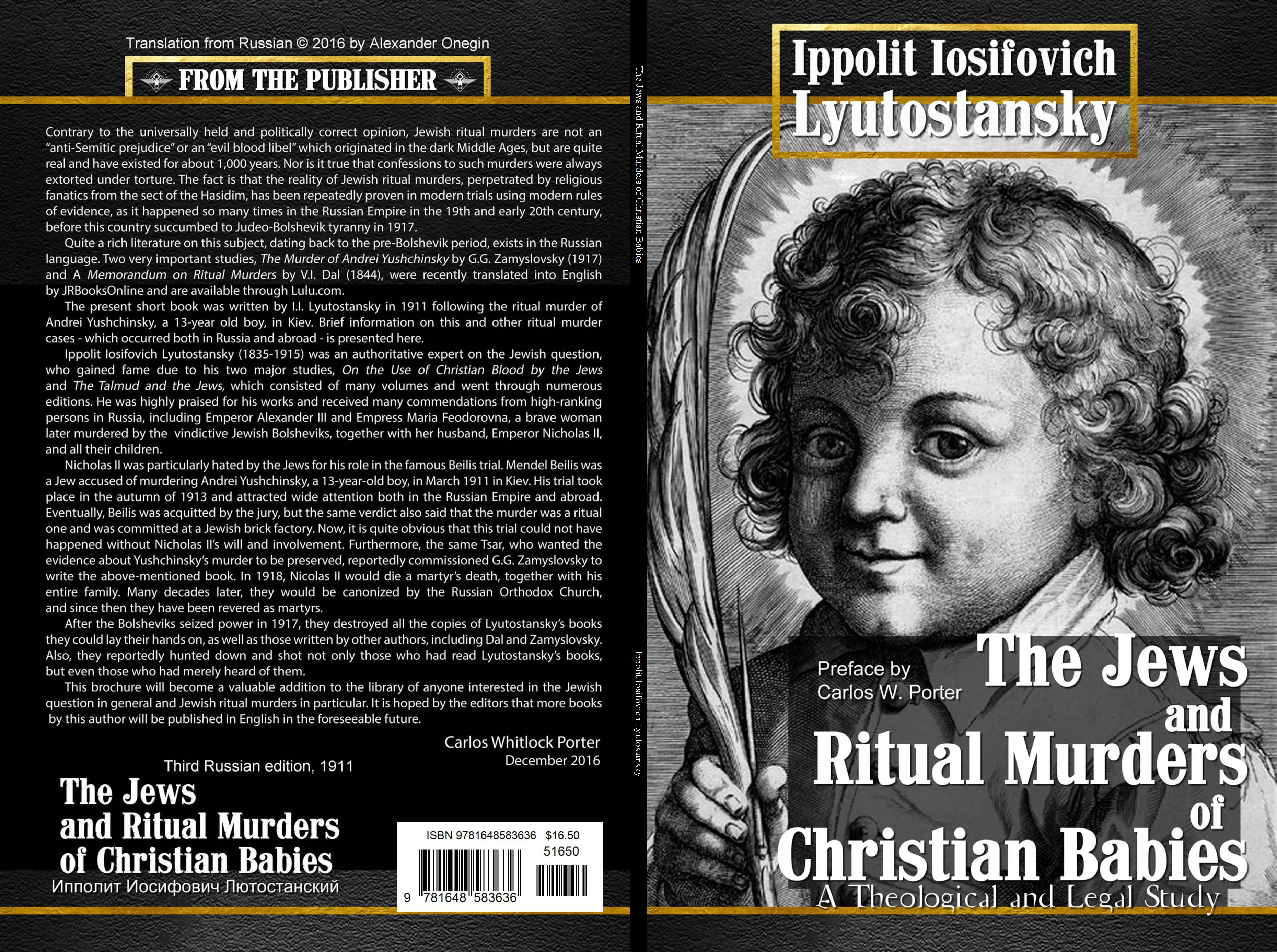 The Jews and Ritual Murders cover image