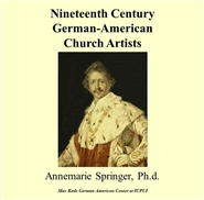 Nineteenth Century German-American Church Artists cover image