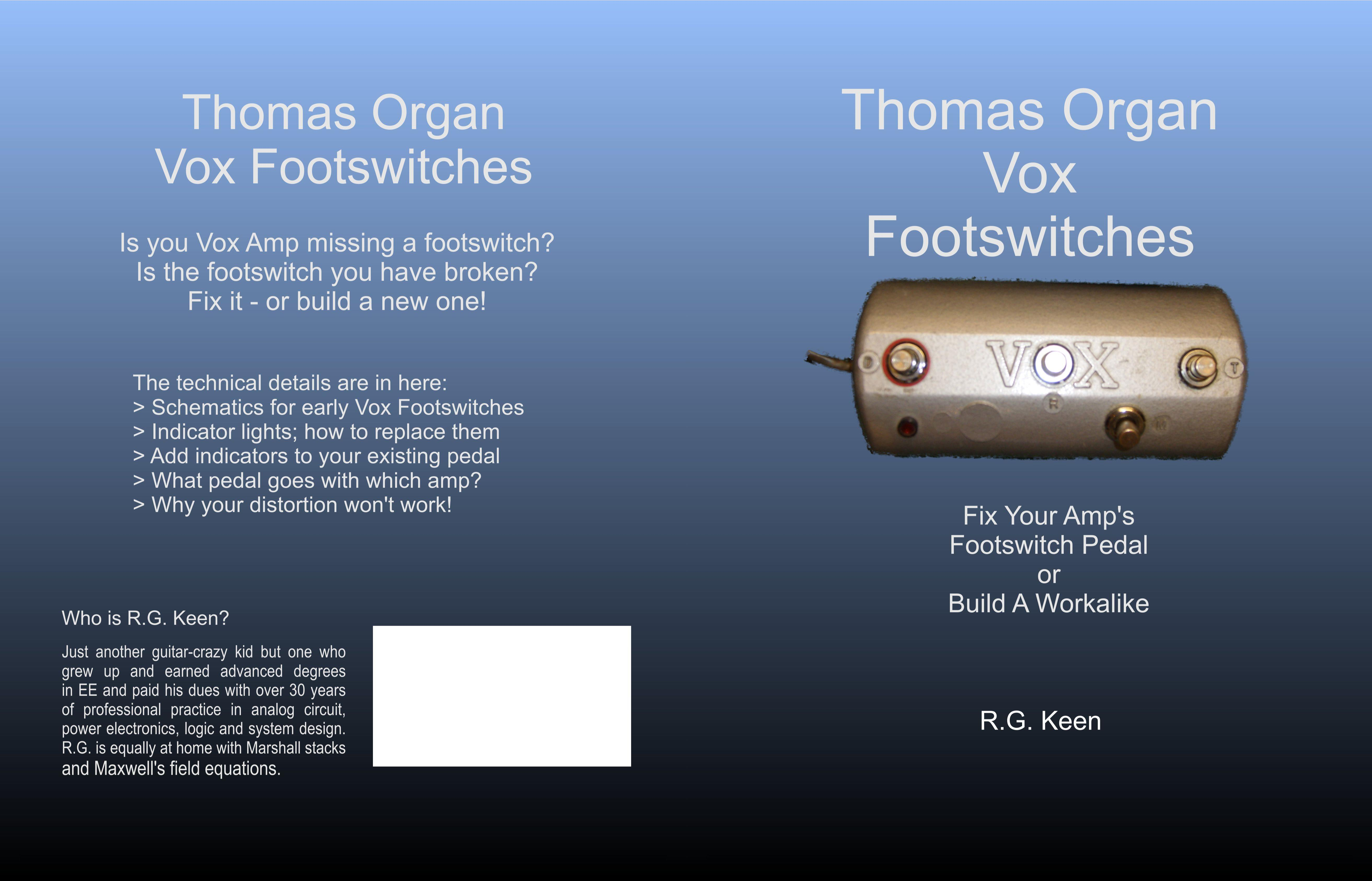 Thomas Organ Vox Footswitches cover image
