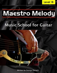 Maestro Melody Music School for Guitar Level 1B cover image