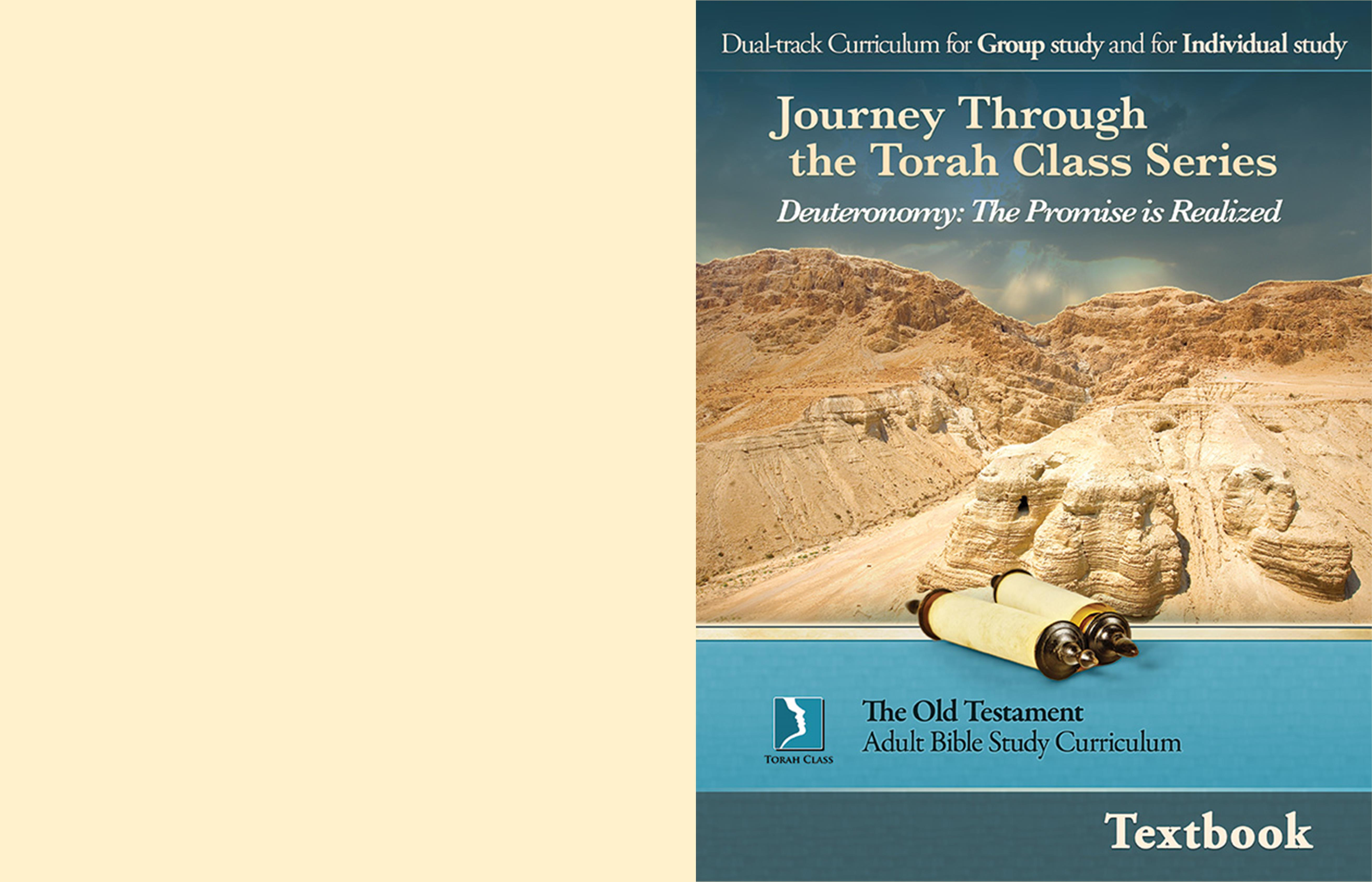 Deuteronomy: The Promise is Realized, Adult Textbook cover image