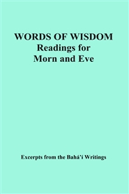 WORDS OF WISDOM Readings for Morn and Eve cover image