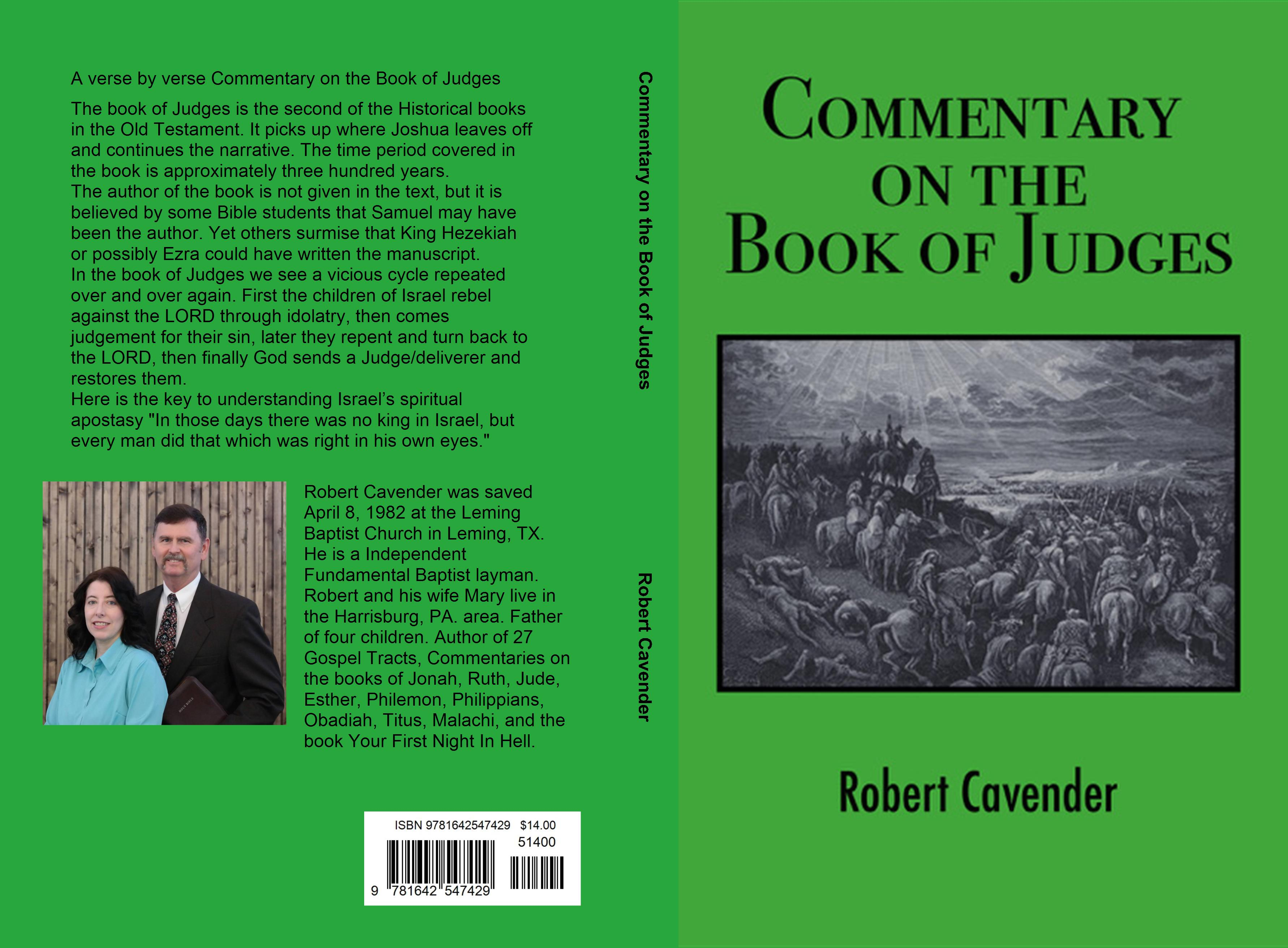 Commentary on the Book of Judges cover image