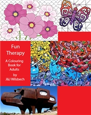 Fun Therapy - A Colouring Book for Adults cover image