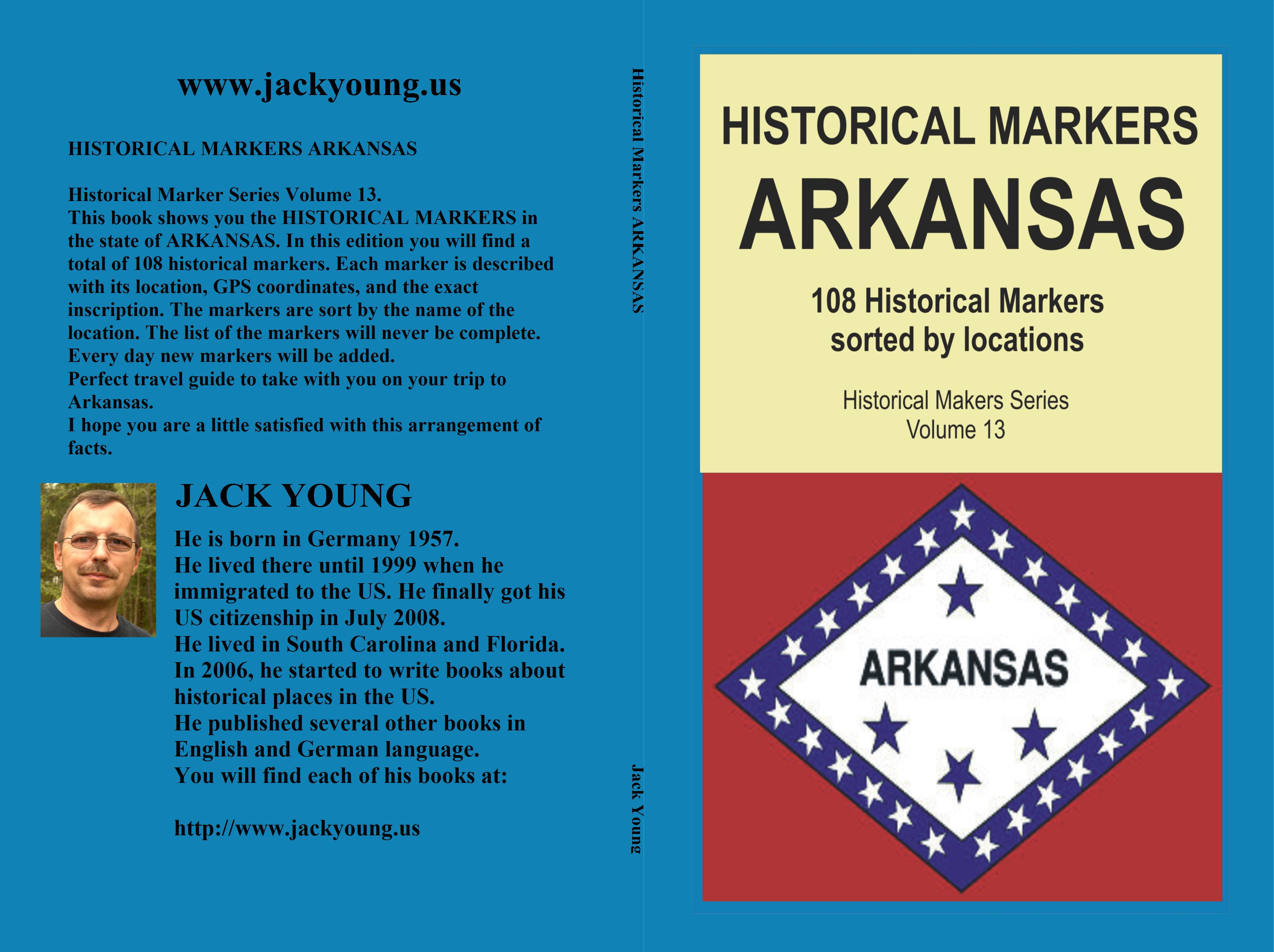Historical Markers ARKANSAS cover image