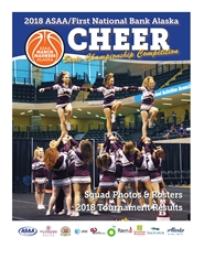 2018 ASAA/First National Bank Alaska Cheer State Championship Program cover image
