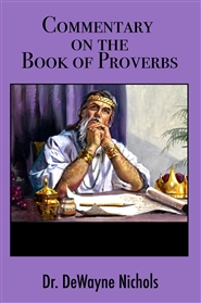 Commentary on the Book of Proverbs cover image