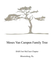 Moses VanCampen Family Tree cover image