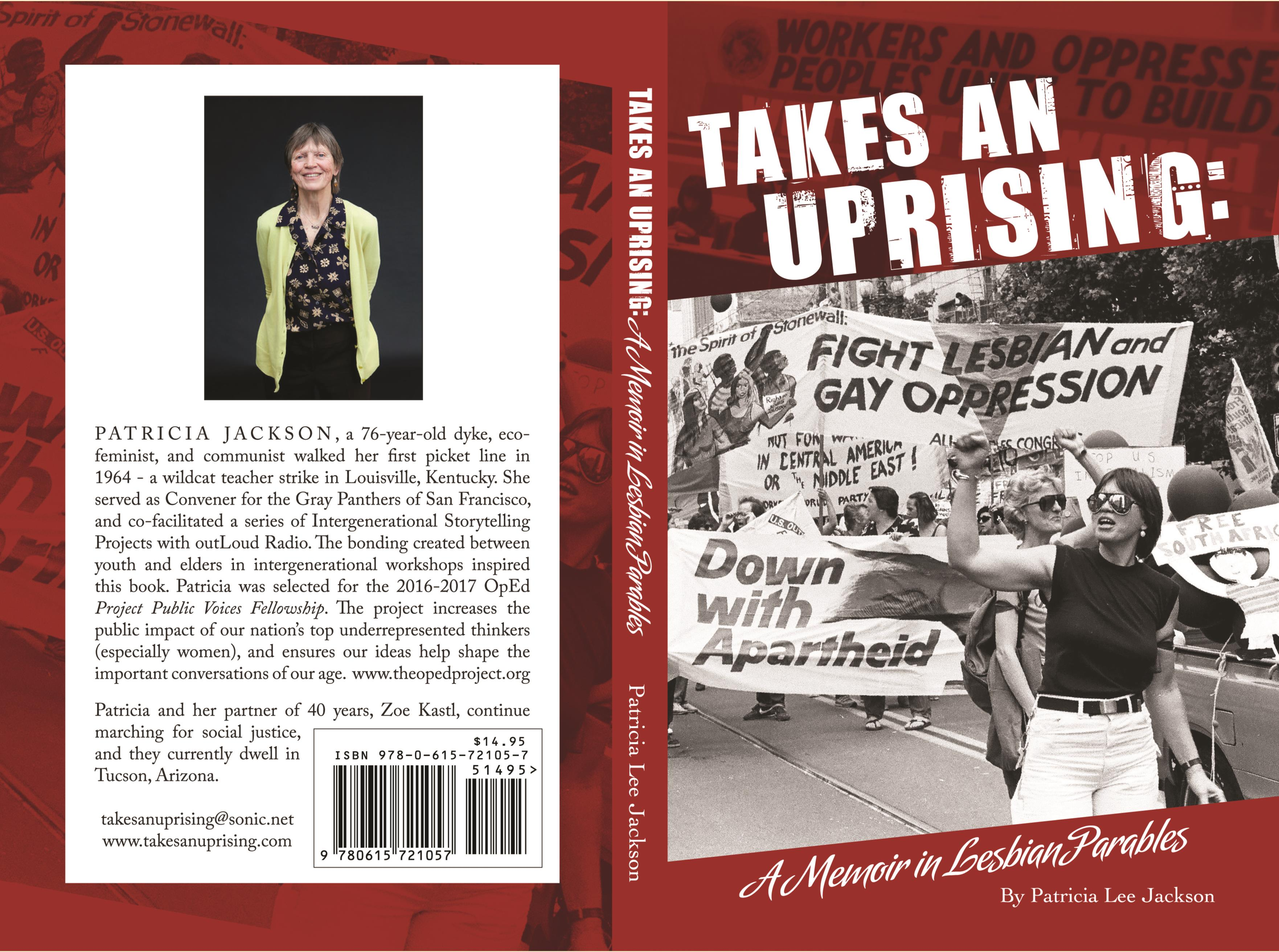 Takes An Uprising: A Memoir in Lesbian Parables cover image