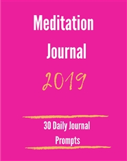 30 Day Meditation Journal cover image