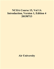 NCOA Course 15, Vol 1A Introduction, Version 1, Edition 4 20150713 cover image
