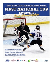 2018 ASAA First National Cup D2 Hockey State Championship Program cover image