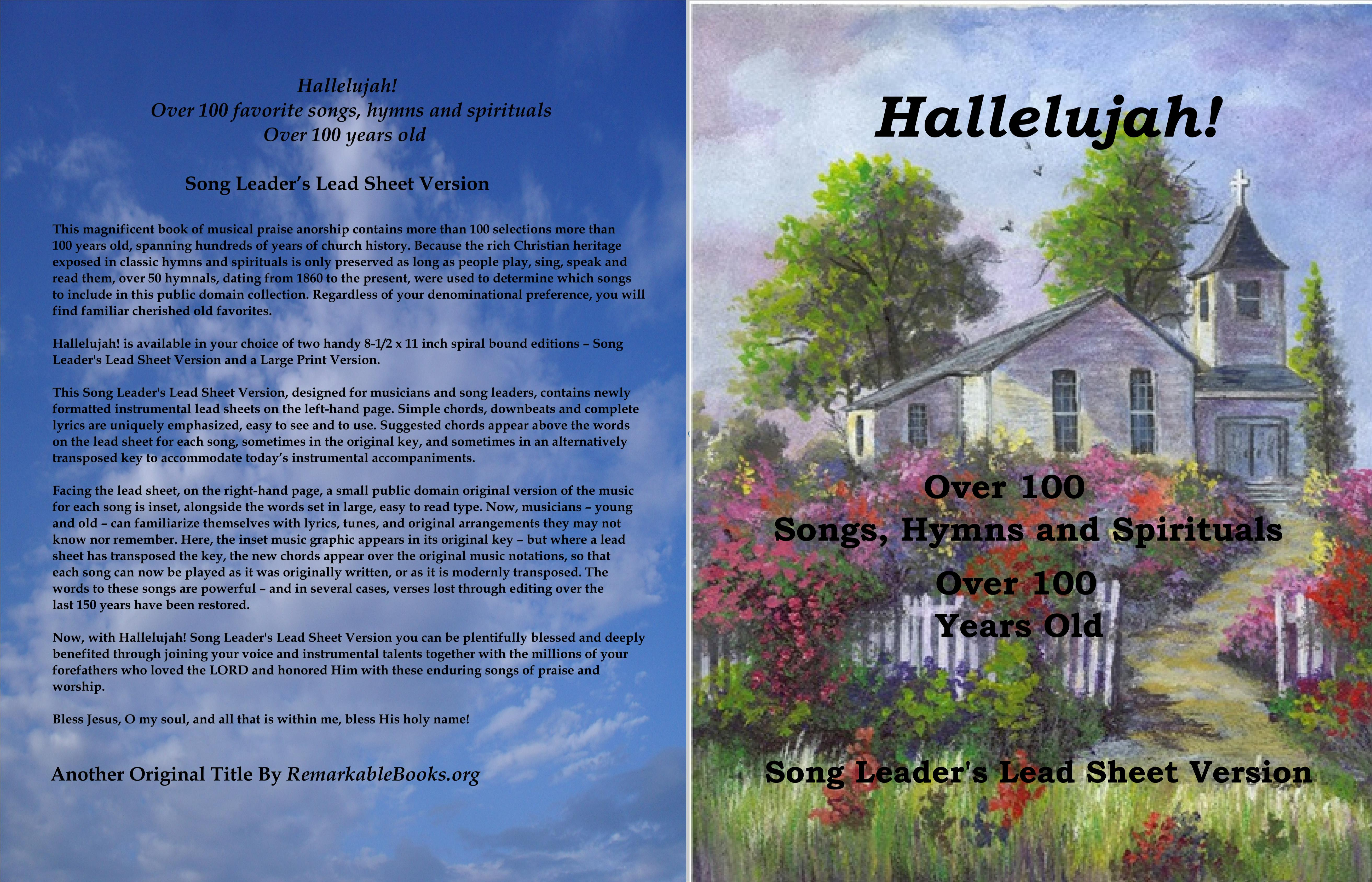 Hallelujah! Songs, Hymns & Spirituals - Song Leader's Lead
