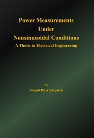 Power Measurements Under Nonsinusoidal Conditions cover image