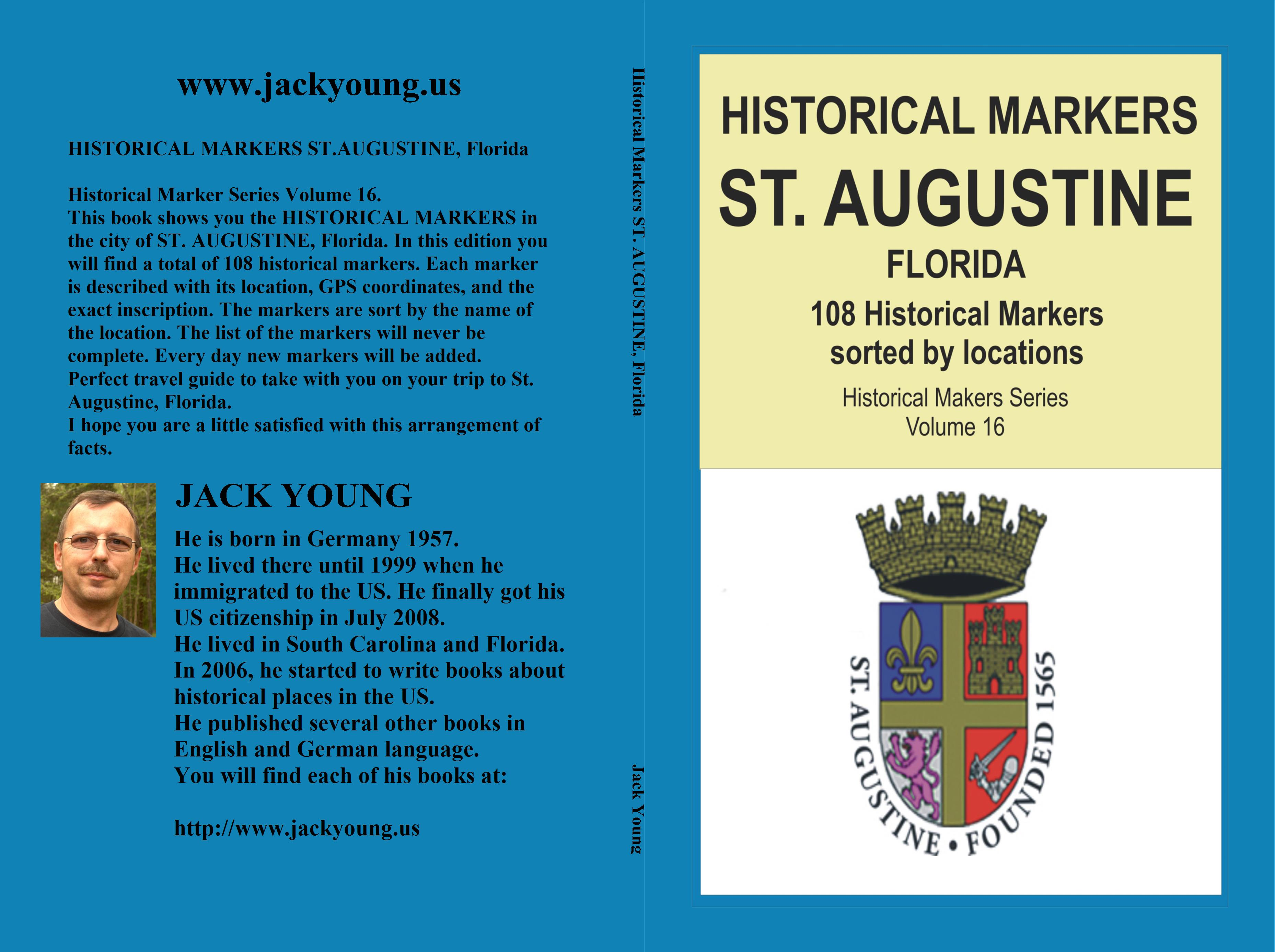 Historical Markers ST. AUGUSTINE, Florida cover image