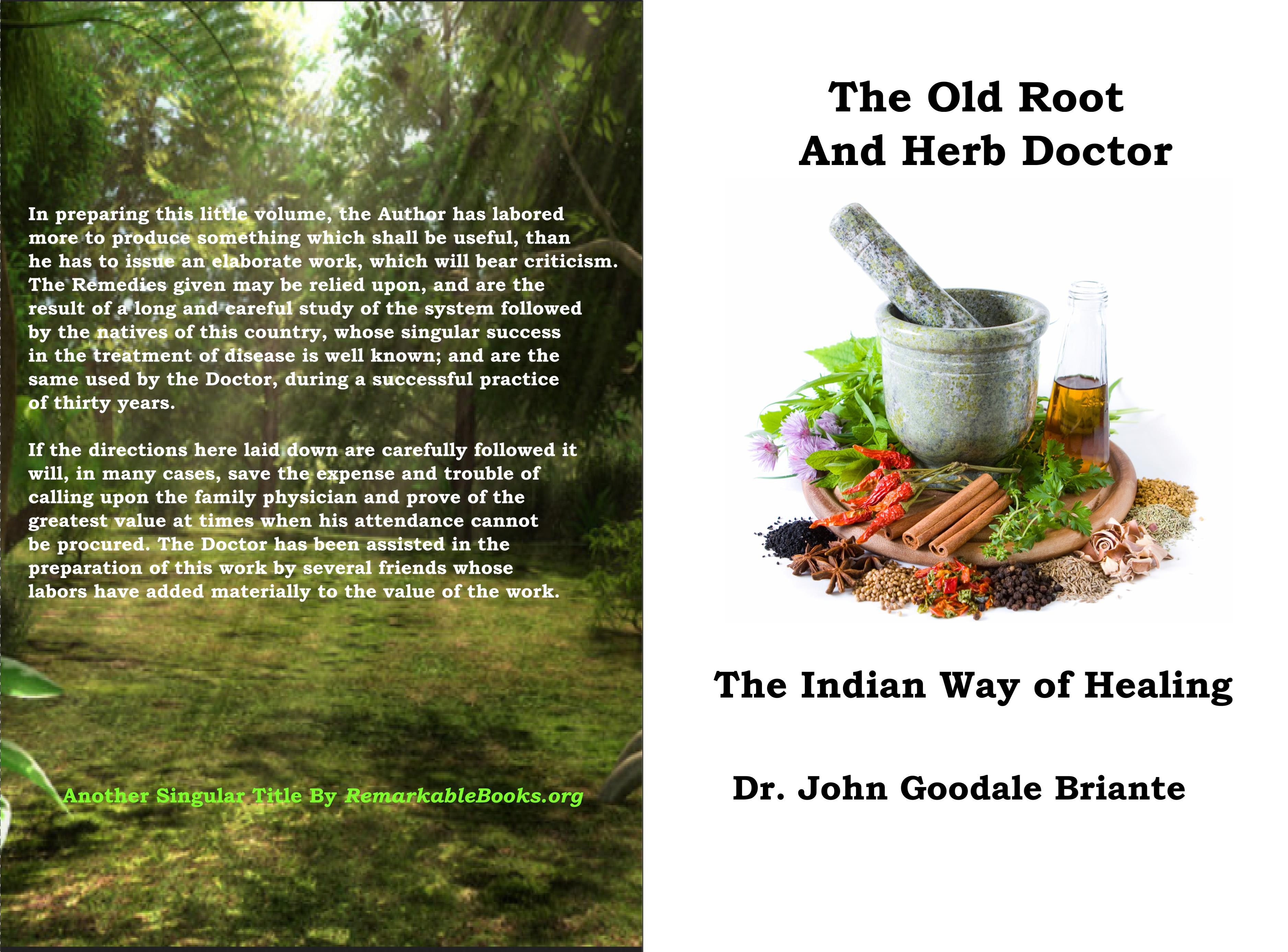 The Old Root and Herb Doctor cover image