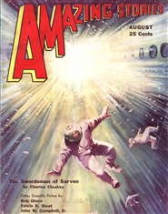 Amazing Stories 1932 August cover image